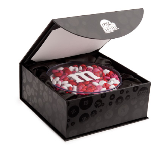 My M&M's Acrylic in Gift Box Starting at $29.99 at mymms.com