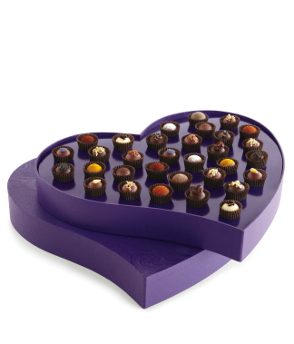 Grande Heart Exotic Truffle Collection, 32 Pieces $95 at Vosges Chocolate