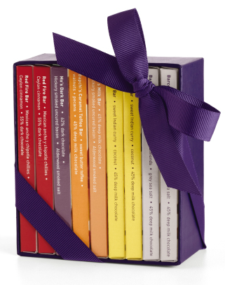 Mini Exotic Chocolate Bar Luxury $25 at Vosges Chocolates