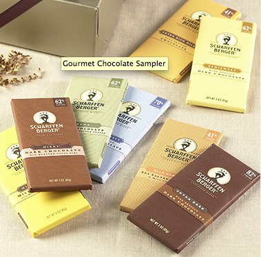 Gourmet Chocolate Sampler $44.99 at Scharffenberger
