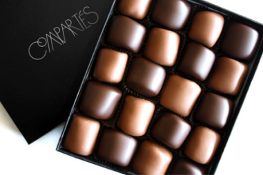 Chocolate Dipped Marshmallows $35 at Compartes Chocolatier