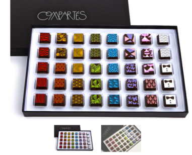 40 Piece Jonathan's Signature Truffles $86.95 at Compartes Chocolatier