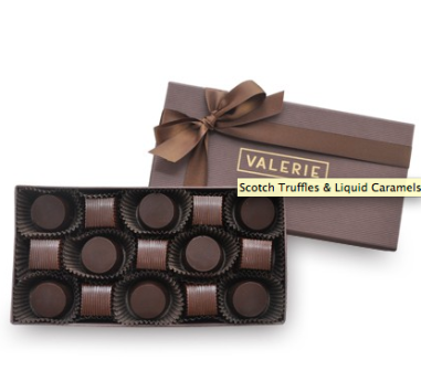 Scotch Truffles & Liquid Caramels $35 at Valerie's Confections