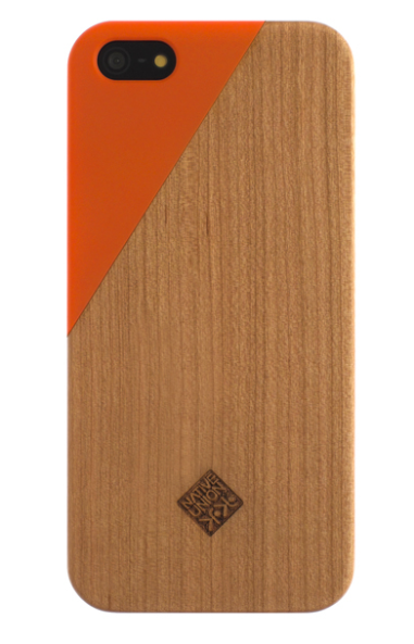 Clic iPhone 5 Case: Wood+Color $40 at A+R Store