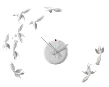 Haoshi's Goldfish Clock $185 at A+R Store