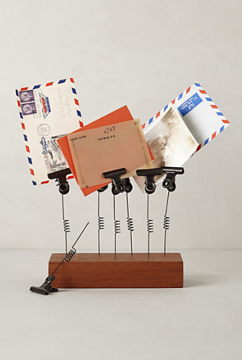 Clip Spring Photo Holder $78 at Anthropologie