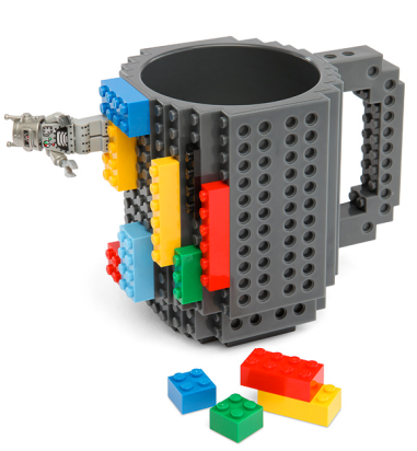 Build-On Brick Mug $19.99 at ThinkGeek